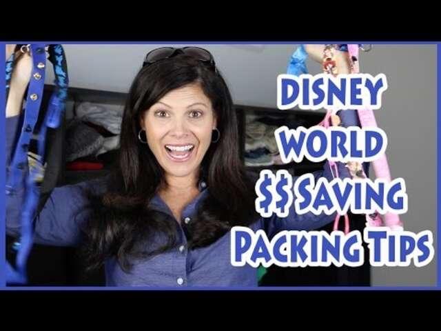 Video; 5 Money Saving Tips for Walt Disney World