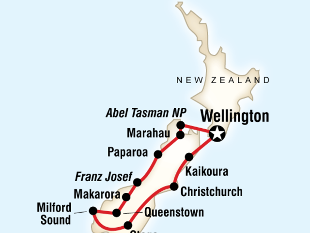 New Zealand - Active South Island