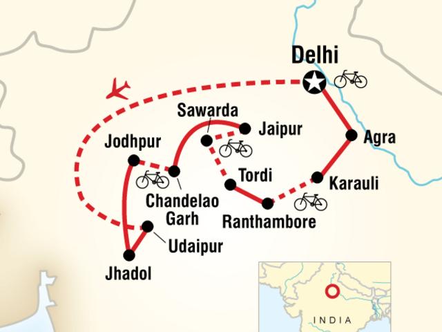 Rajasthan Cycling