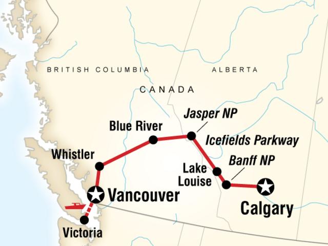 Canadian Rockies Trail