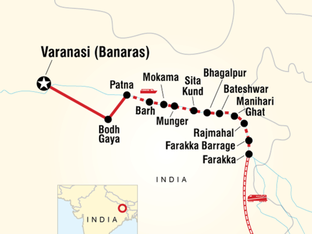 Cruise the Ganges