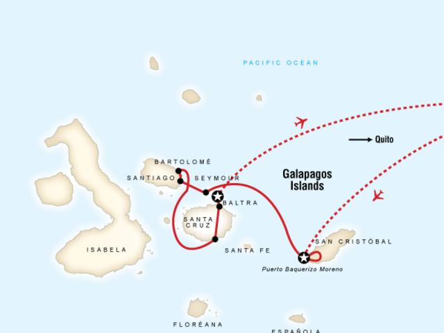 Galápagos Land & Sea — Central Islands aboard the Xavier III