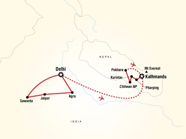 India & Nepal Explorer