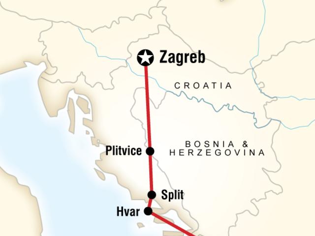 Croatia Adventure–Zagreb to Dubrovnik