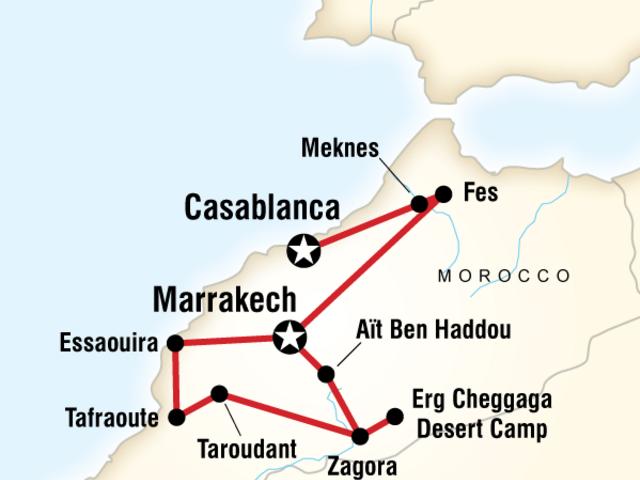 Morocco Sahara and Beyond