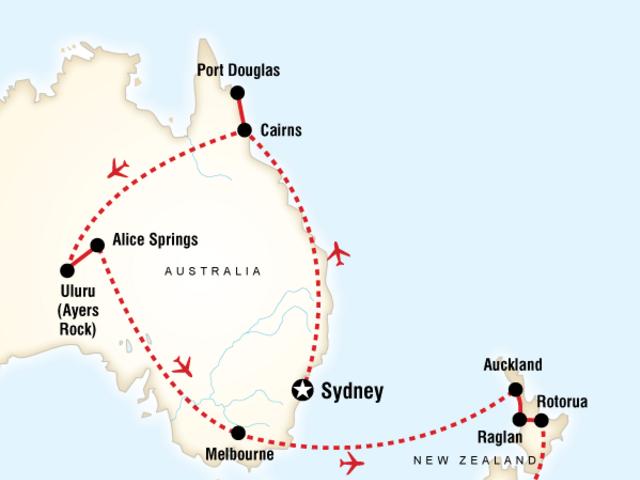Australia & New Zealand Explorer