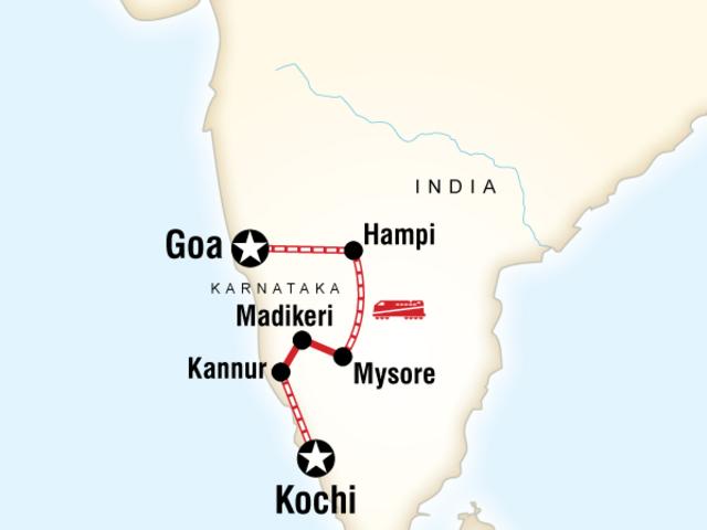 Southern India & Karnataka by Rail
