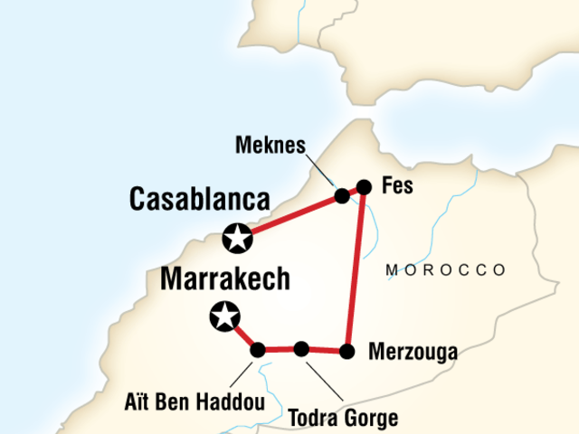 Morocco Kasbahs & Desert - Teenage Adventure