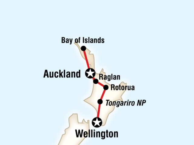 New Zealand–North Island Encompassed