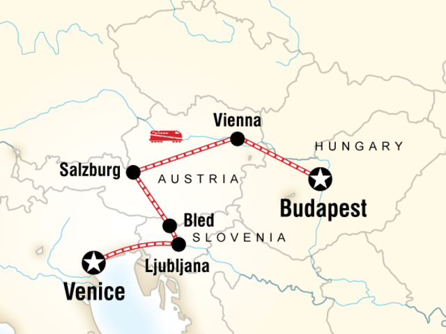 Venice to Budapest Express