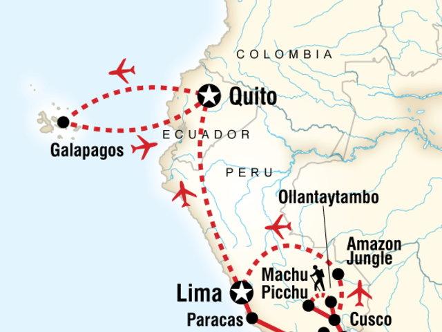 Absolute Peru & Galápagos Central Islands