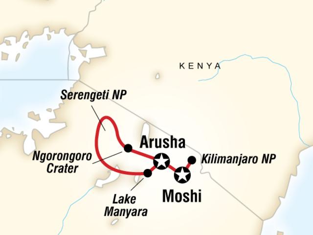 Mt Kilimanjaro & Serengeti Adventure