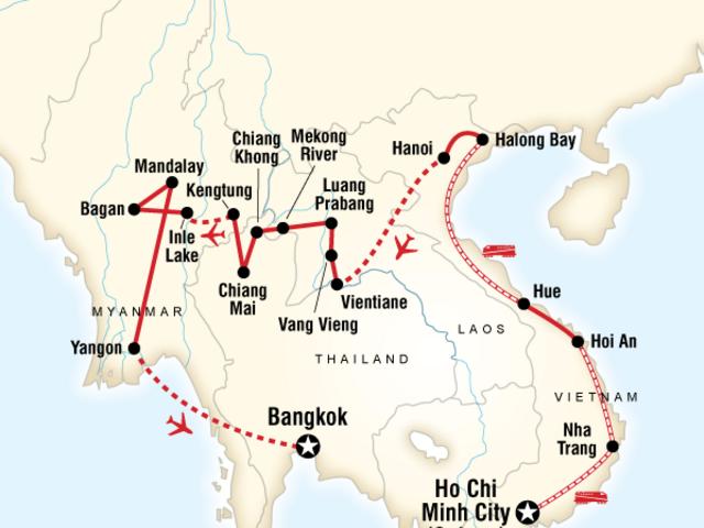 Vietnam, Laos & Myanmar on a Shoestring