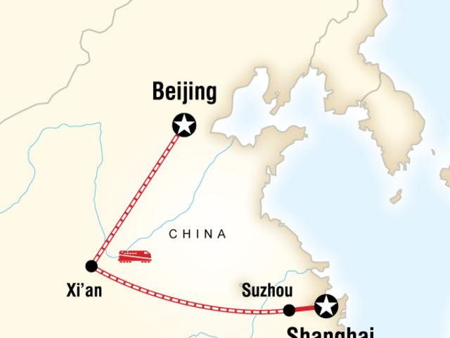 Beijing to Shanghai Adventure
