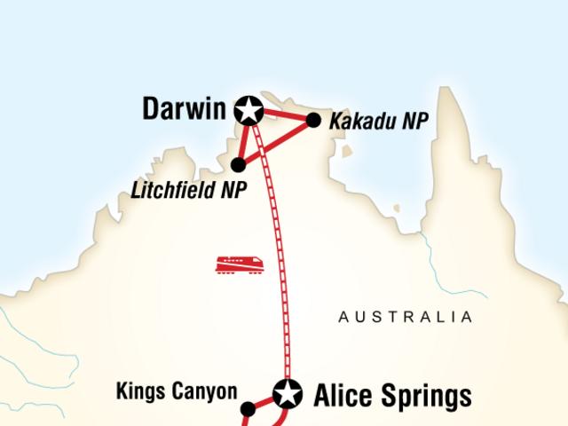 The Rock, Rail and Kakadu