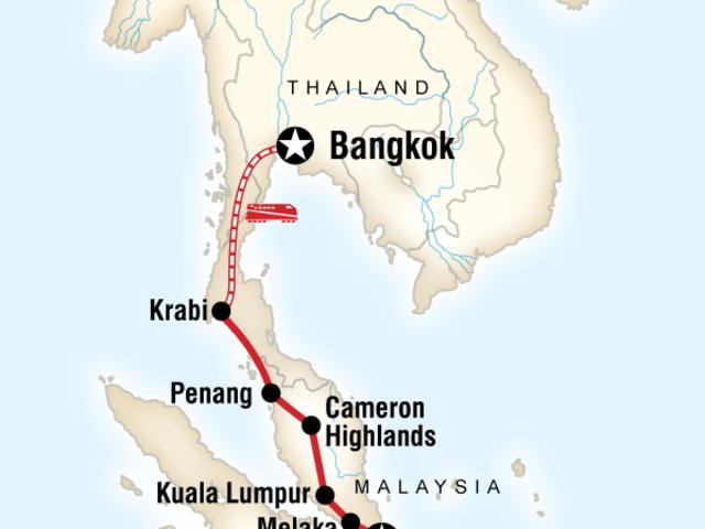 Colours of Asia – Singapore to Bangkok