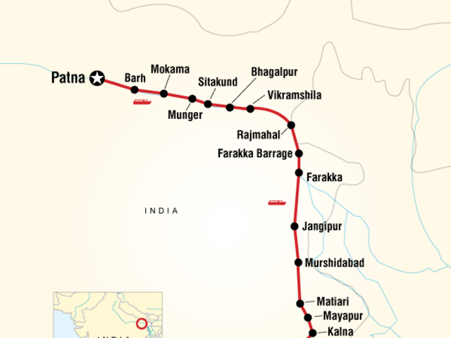 Ganges River Cruise Encompassed