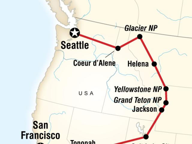 Camping Yosemite & Yellowstone