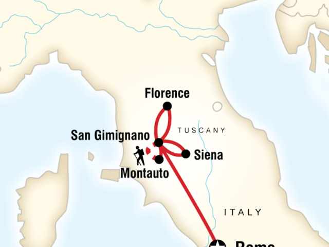 Local Living Italy—Tuscany San Gimignano