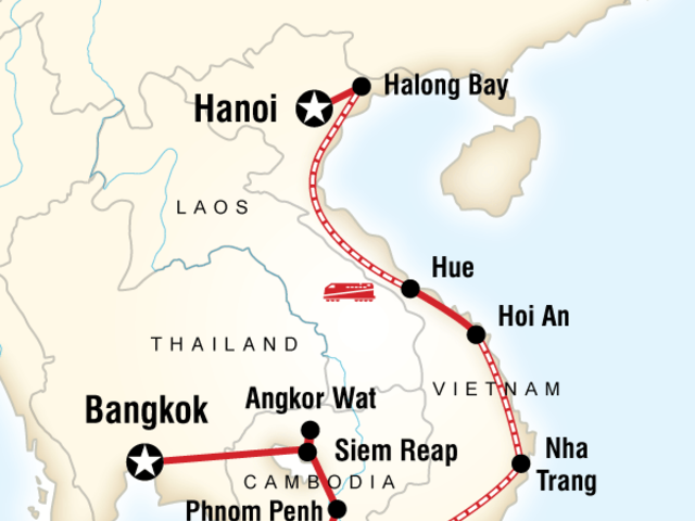 Cambodia & Vietnam on a Shoestring