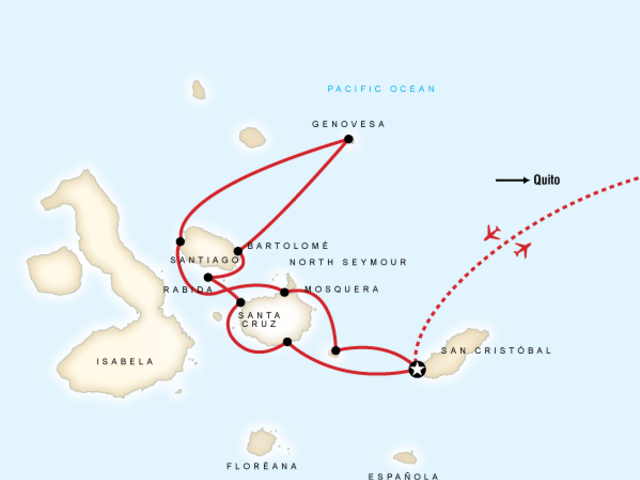 Galápagos — North and Central Islands aboard the Queen
