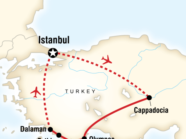 Turkey Active Adventure