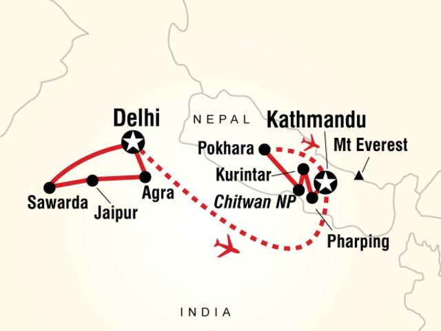 Explore India & Nepal