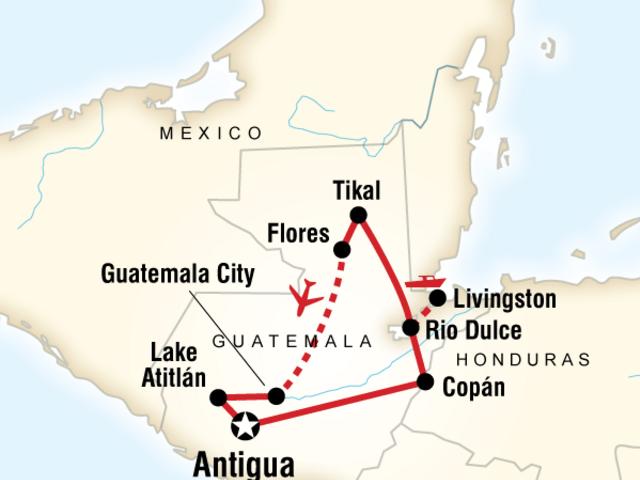 Central America Explorer