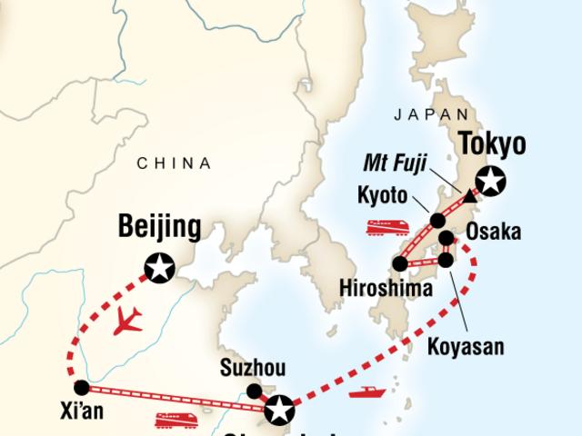 Ancient Empires—Beijing to Tokyo