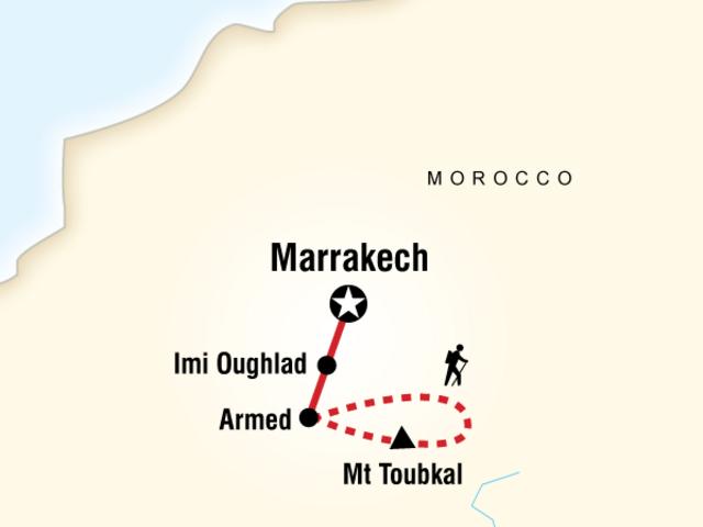 Climb Mt Toubkal