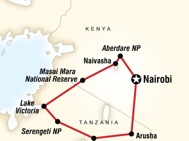 East Africa Lodge Safari