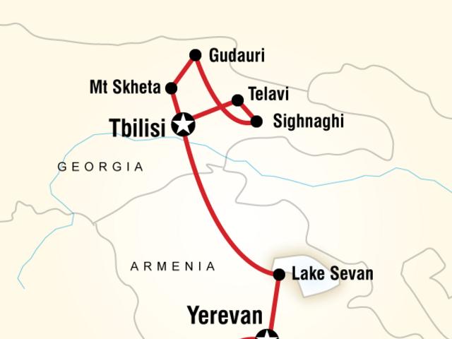 Best of Georgia & Armenia