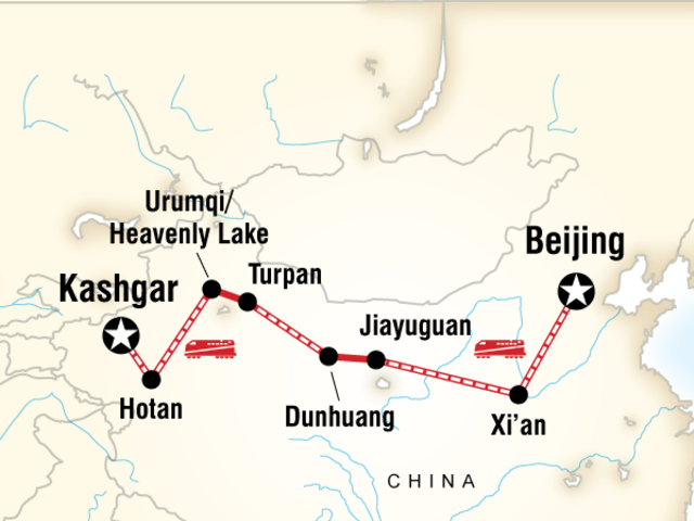 The Silk Road of China
