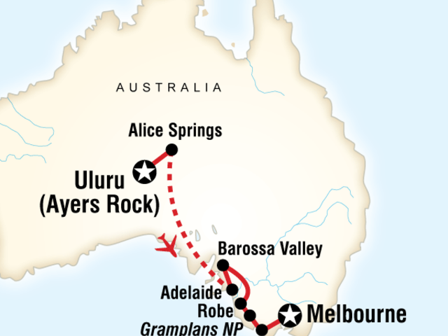 Outback to the Great Ocean Road in Style