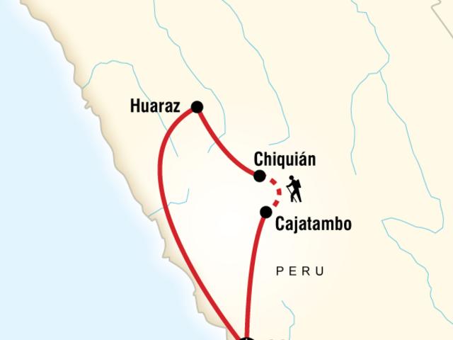 Trekking the Huayhuash Circuit
