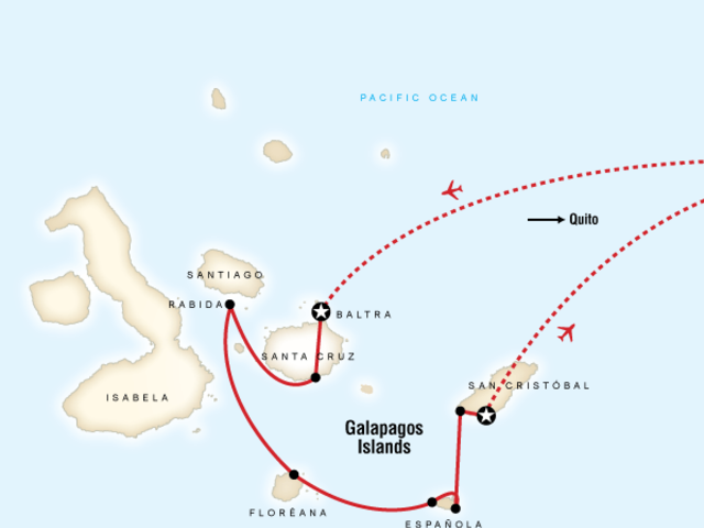 Galápagos — South Islands aboard the Xavier III