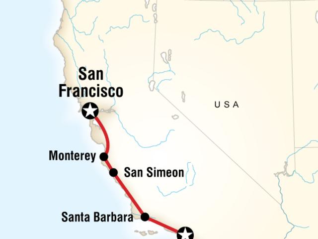 Pacific Coast California Express