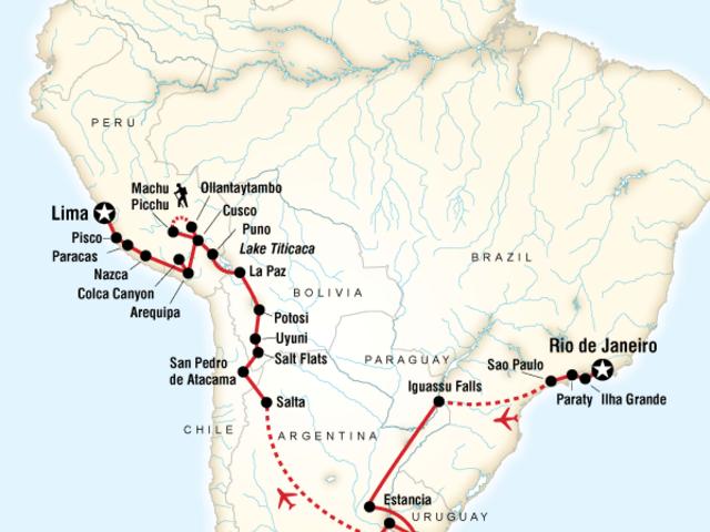 Rio to Lima Adventure