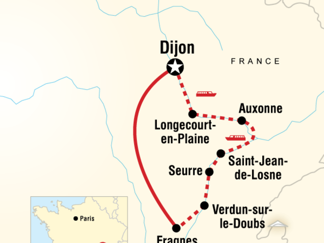 Burgundy River Cruise Experience