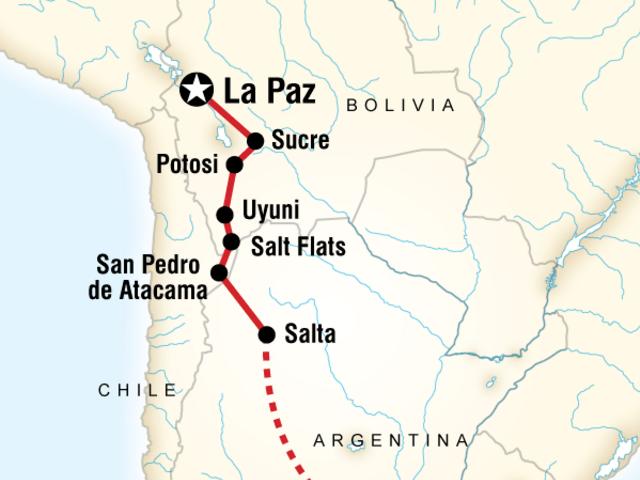 Buenos Aires to La Paz Adventure