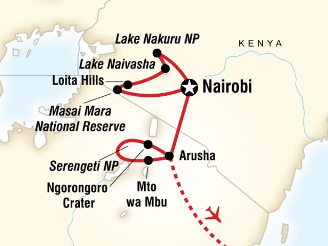 Kenya & Tanzania Overland Adventure
