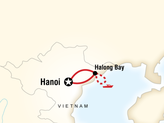 Hanoi & Halong Bay Independent Adventure