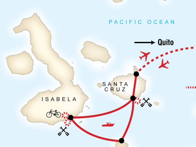 Galápagos Multi-Activities with Quito