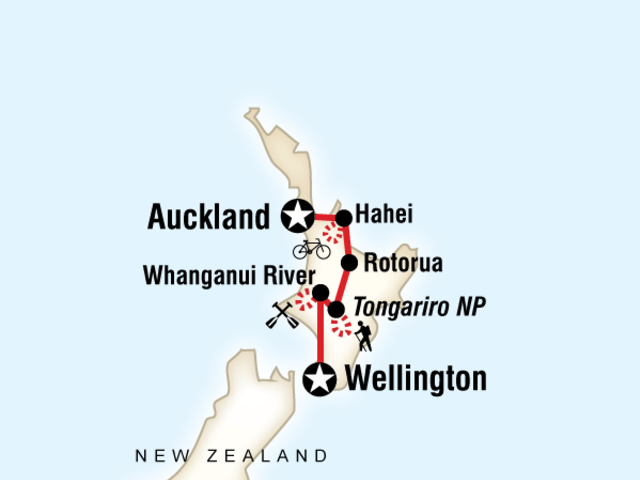 New Zealand - Active North Island