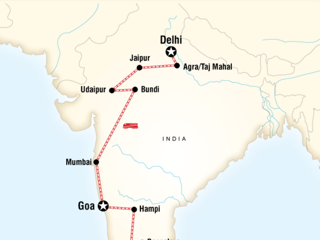 Delhi to Kochi by Rail