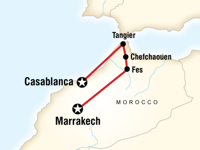 Northern Morocco on a Shoestring