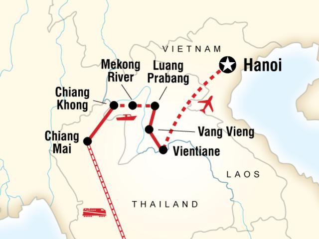 Thailand and Laos Adventure