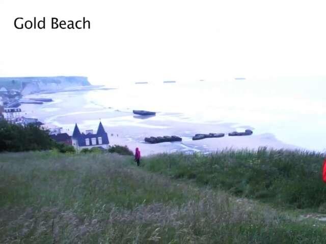 WW2 Landing Beaches in Normandy
