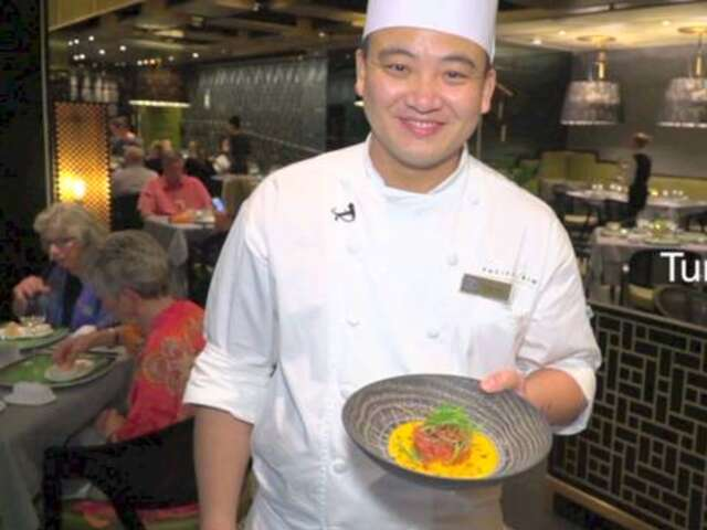 Video: Regent Seven Seas Cruises' Tuna Tartare Recipe from Pacific Rim