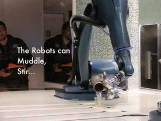 Video: These Robots Make Cocktails